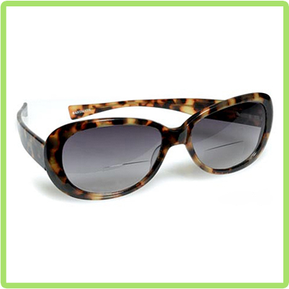Eyebobs model Bardot shown in Classic tortoise style