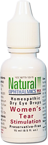 Natural Ophthalmics packaging