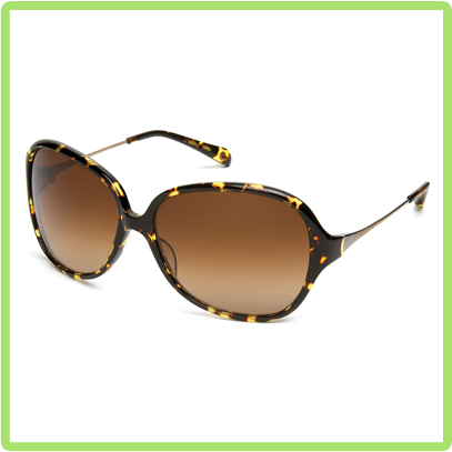 Odette Yellow Jacket with Brown Gradient lens