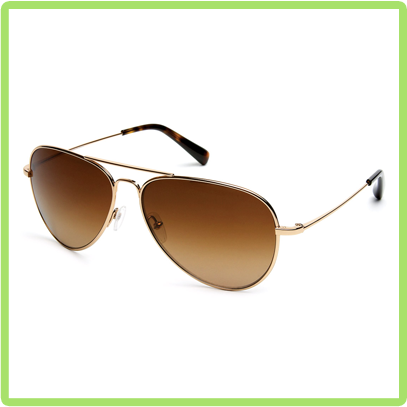 Vargas Honey Gold with Brown Gradient lens